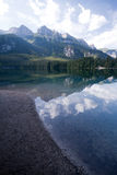 Lago Tovel, Fotografie Stock Libere da Diritti