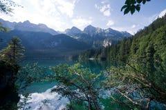 Lago Tovel Fotografia Stock Libera da Diritti