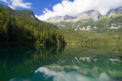 Lago Tovel, Italy Stock Photos