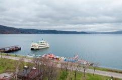Lago Toya Foto de archivo