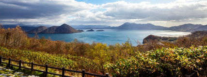 Lago Toya Hokkaido, Giappone Fotografia Stock