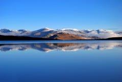 Lago tranquilo Fotografia de Stock