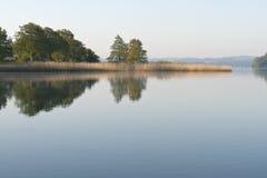 Lago tranquilo fotos de archivo