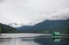 Lago tranquilo Imagens de Stock