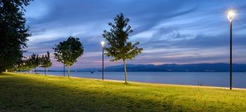 Lago Trasimeno (Umbria) Panorama Stock Image