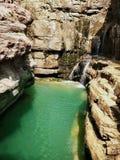 Lago trasparente del turchese fotografia stock