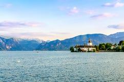 Lago Traunsee Imagem de Stock