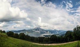 Lago Traunsee - Austria Fotografia Stock Libera da Diritti
