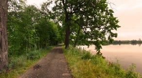 Lago in Trebon, Boemia, repubblica Ceca Immagine Stock Libera da Diritti