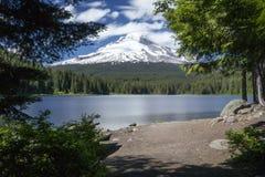 Lago Trillium, Oregon Imagens de Stock