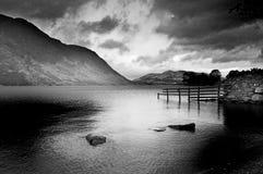 Lago triste fotografía de archivo