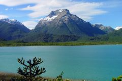 Lago Tronador imágenes de archivo libres de regalías