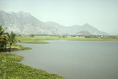 Lago tropicale upland fotografia stock