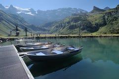 Lago Truebsee de Engelberg foto de archivo libre de regalías