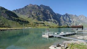 Lago Truebsee de Engelberg fotos de archivo