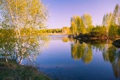 Lago Tsimlyanskoe Fotografia Stock