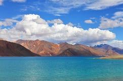 Lago Tso Moriri, Fotografia de Stock Royalty Free