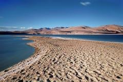 Lago Tso-Moriri Imagens de Stock