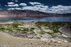 Lago Tso-Moriri Imagens de Stock Royalty Free