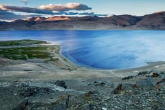 Lago Tso-Moriri Fotos de Stock Royalty Free