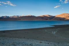 Lago Tso-Moriri Foto de Stock