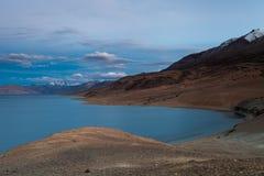 Lago Tso-Moriri Fotografia de Stock Royalty Free
