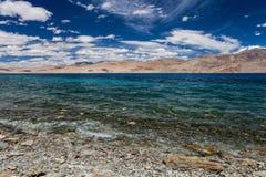Lago Tso-Moriri Imagem de Stock Royalty Free