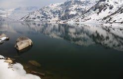Lago Tsomgo (Changu) in Gangtok, Sikkim orientale, India immagini stock