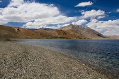 Lago Tsomoriri Imagen de archivo libre de regalías