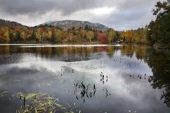Lago Tupper, montañas de Adirondack Fotos de archivo libres de regalías
