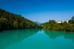 Lago turquoise Foto de archivo