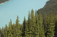 Lago turquoise Fotografía de archivo