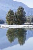 Lago two Jack em Banff Imagem de Stock