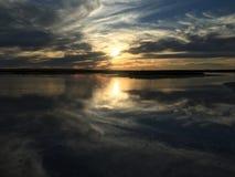 Lago Tyrell Foto de archivo