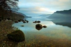 Lago Ullswater Fotografia Stock