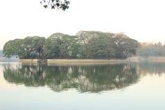 Lago Ulsoor Fotografía de archivo