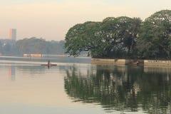 Lago Ulsoor Imagenes de archivo