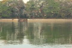 Lago Ulsoor Immagine Stock