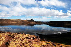 Lago Umayo Immagini Stock