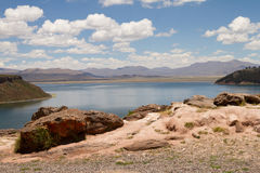 Lago Umayo 2 Imagen de archivo libre de regalías