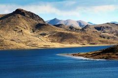 Lago Umayo, perto do titicaca no puno peru Fotografia de Stock