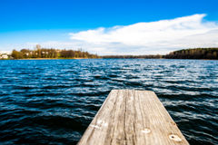 Lago un giorno di estate fotografie stock libere da diritti