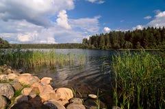 Lago Uzhin Imagen de archivo