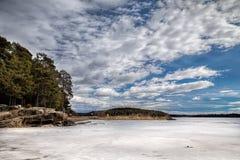 Lago vänern Imagen de archivo