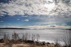 Lago vänern Fotografía de archivo