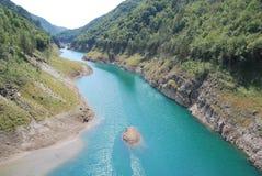 Lago Valvestino Foto de archivo