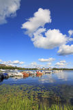 Lago Vanajavesi Fotografia Stock Libera da Diritti