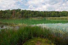Lago variopinto Fotografie Stock Libere da Diritti