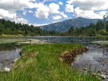 Lago Vasilashki Foto de archivo libre de regalías