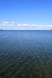 Lago Vattern in Svezia Fotografie Stock Libere da Diritti